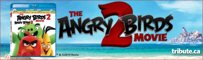 ANGRY BIRDS MOVIE 2 Blu-ray contest