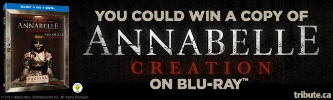 Annabelle Creation Blu-ray contest