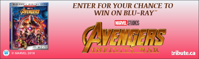 AVENGERS: INFINITY WAR Blu-ray contest