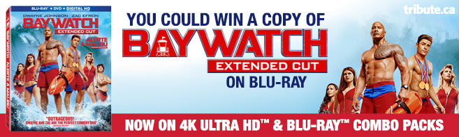 Baywatch Extended Cut Blu-ray contest