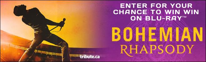 BOHEMIAN RHAPSODY Blu-ray contest