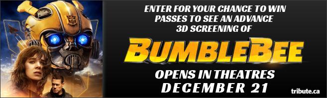 BUMBLEBEE Advance screening contest