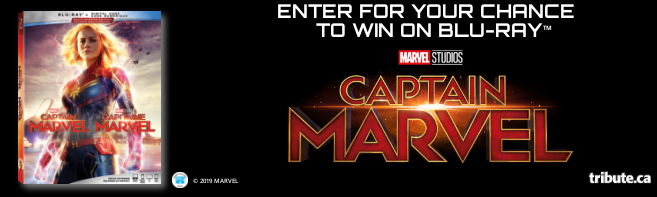 CAPTAIN MARVEL Blu-ray contest
