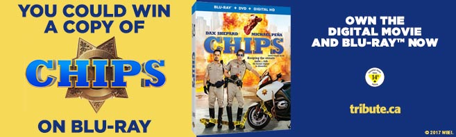 CHIPS Blu-ray contest