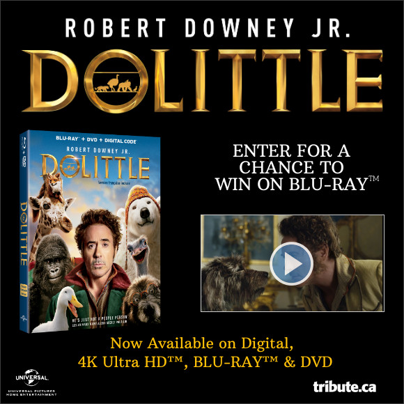 DOLITTLE Blu-ray contest