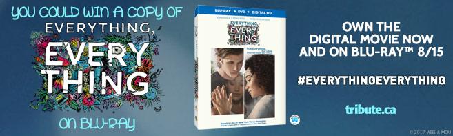 Everything Everything Blu-ray contest