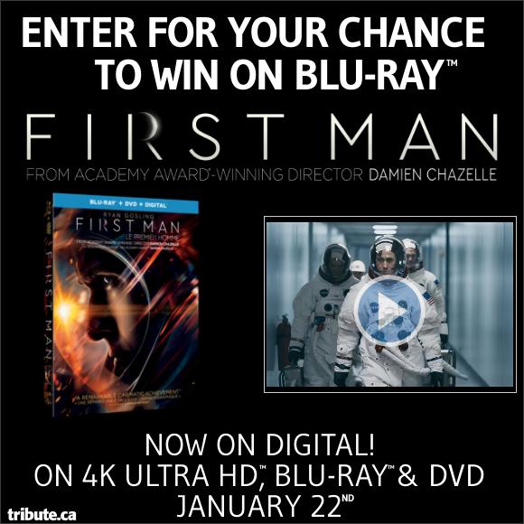 FIRST MAN Blu-ray contest