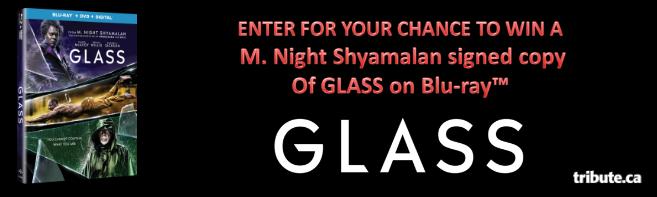 GLASS Blu-ray signed by M. Night Shyamalan contest