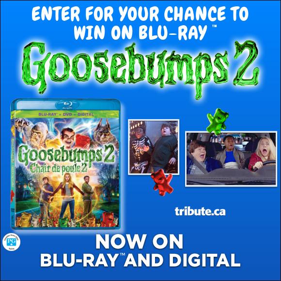 GOOSEBUMPS 2 Blu-ray contest
