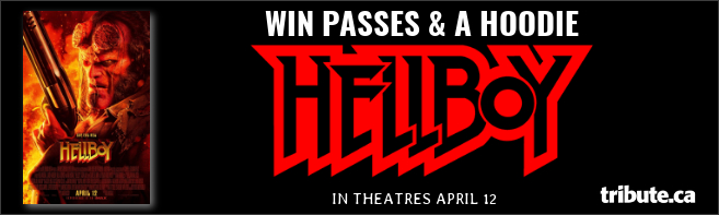 HELLBOY Passes and Hoodie contest
