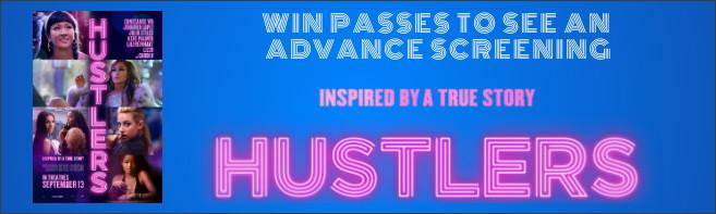 HUSTLERS Advance Screening Pass contest