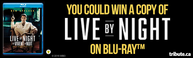 Live By Night Blu-ray Pack contest