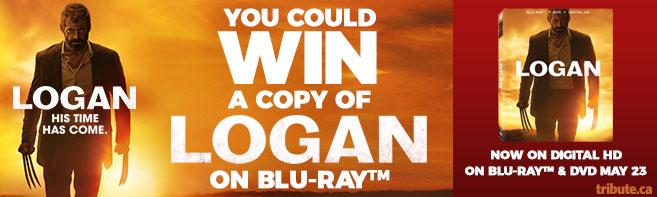 LOGAN Blu-ray contest