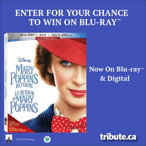 MARY POPPINS RETURNS Blu-ray contest