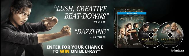 MASTER Z: IP MAN LEGACY Blu-ray contest