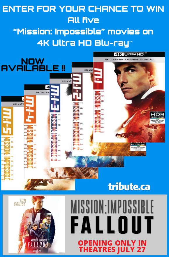 Mission: Impossible 4K Ultra HD Blu-ray contest