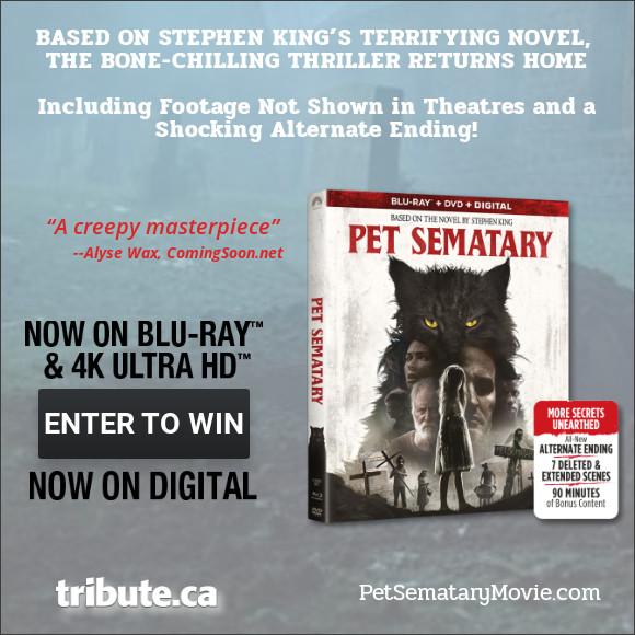 PET SEMATARY Blu-ray contest