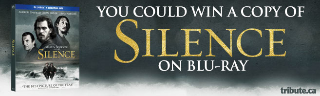 Silence Blu-ray Pack contest