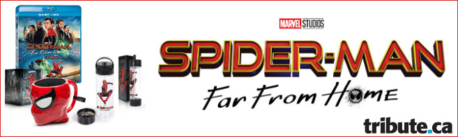SPIDER-MAN FAR FROM HOME Blu-ray & Prize Pack contest