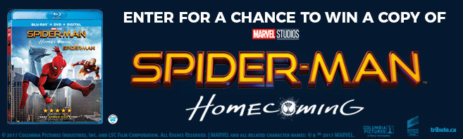 Spider-man Homecoming Blu-ray contest