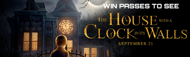 The House With a Clock In Its Walls Pass contest