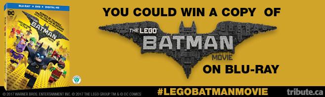 The LEGO Batman Movie Blu-ray contest