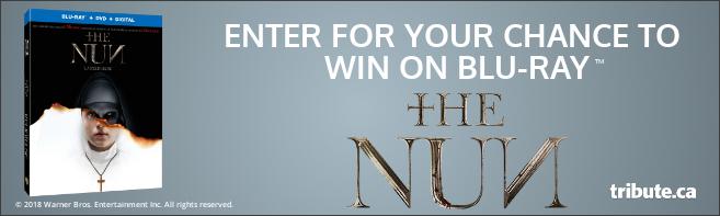 THE NUN Blu-ray contest