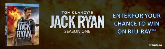 TOM CLANCY'S JACK RYAN - SEASON ONE Blu-ray contest