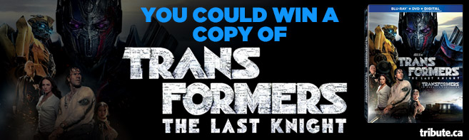 Transformers The Last Knight Blu-ray contest