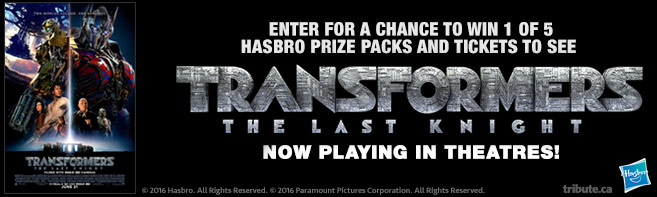 Transformers The Last Knight contest