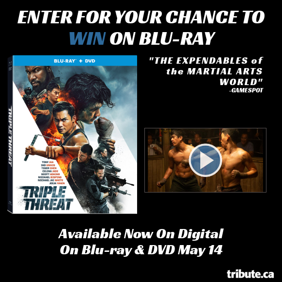 TRIPLE THREAT Blu-ray contest