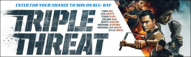 TRIPLE THREAT Blu-ray contest