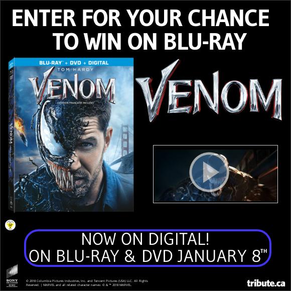 VENOM Blu-ray contest