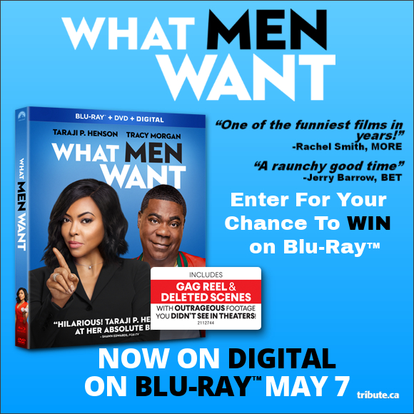 WHAT MEN WANT Blu-ray contest