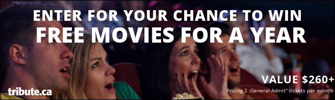 Win FREE MOVIES for a YEAR! contest