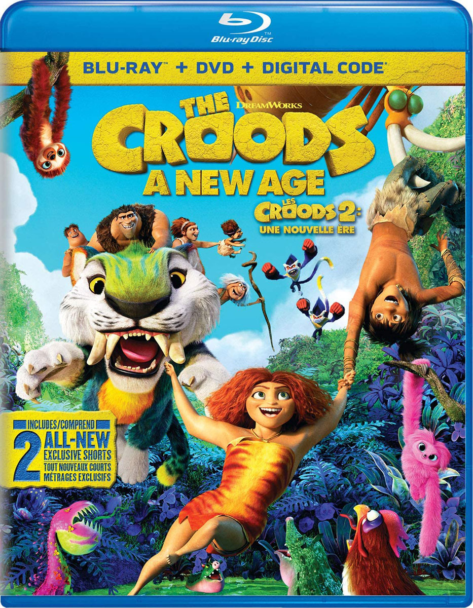 The Croods: A New Age on DVD and Blu-ray