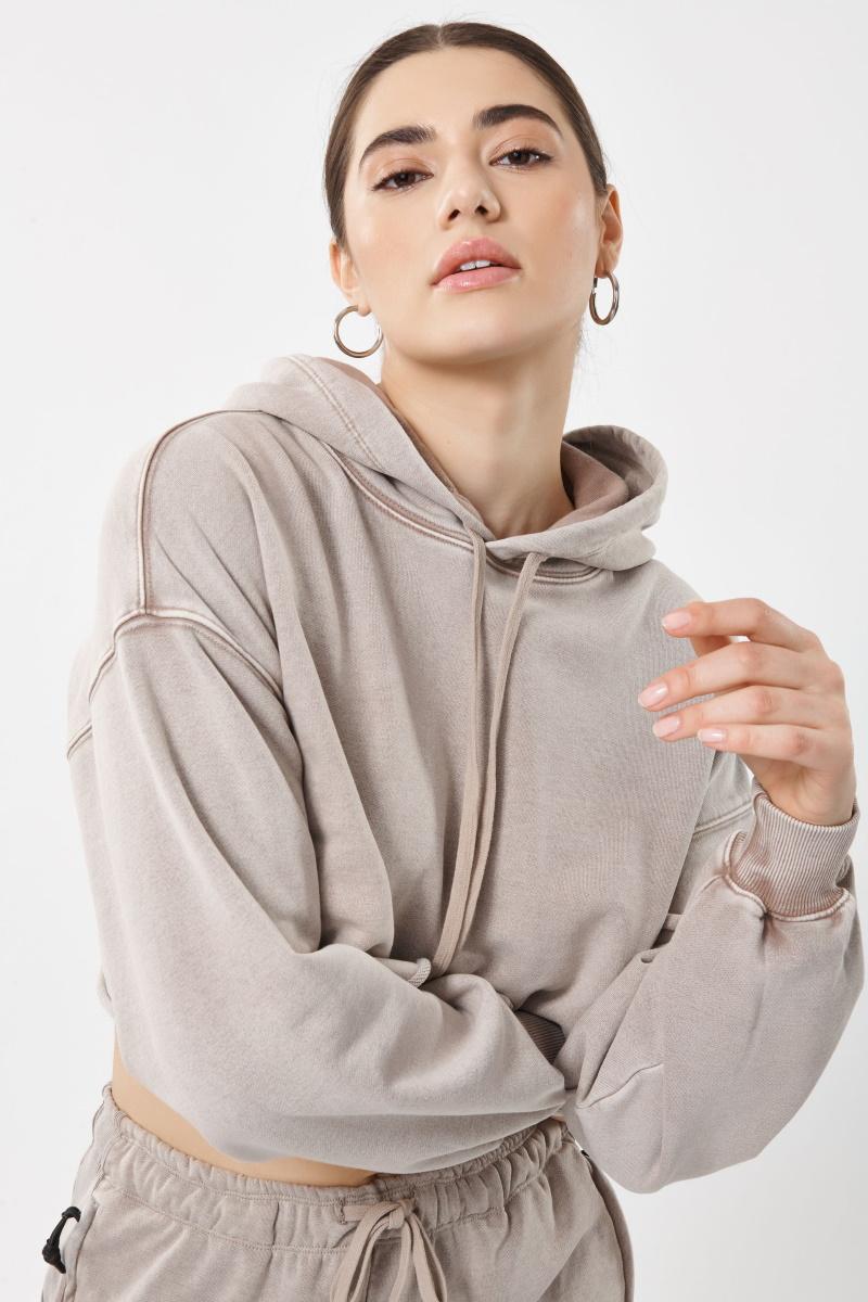 Garage Clothing's new Activate Crop Hoodie Sweatshirt