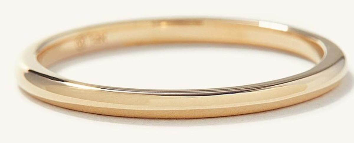Mejuri Thin Gold Band