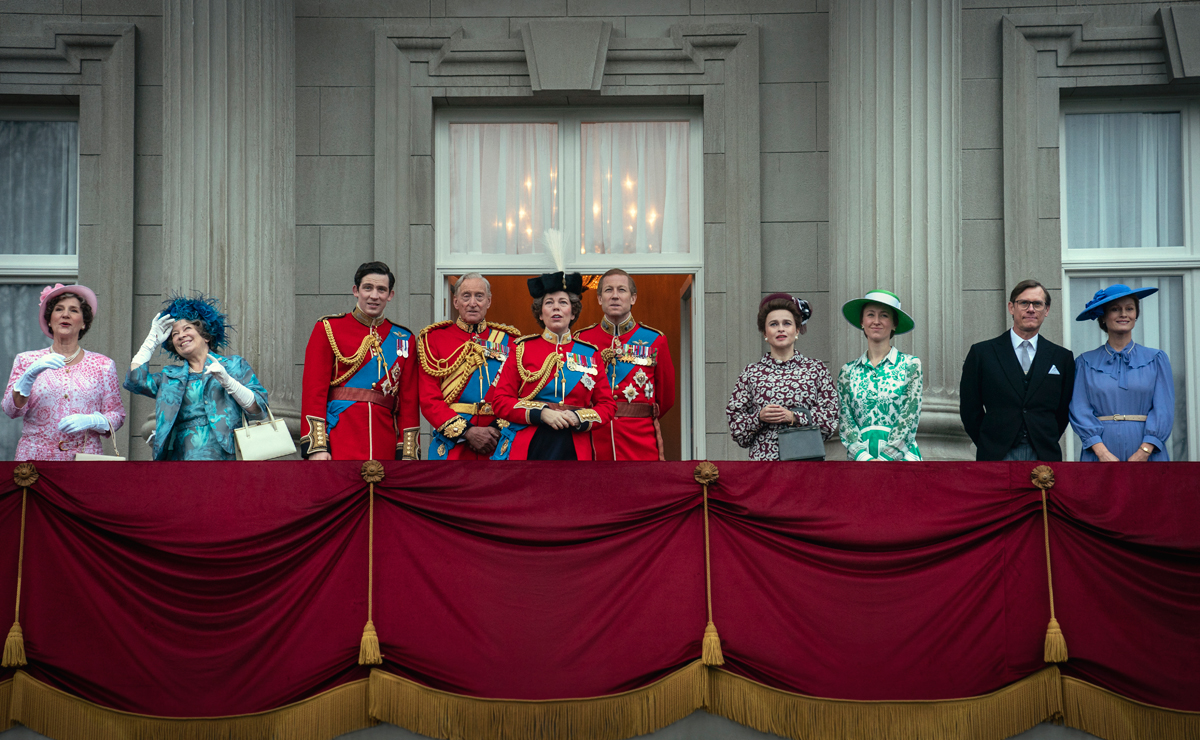 The Crown courtesy of Netflix
